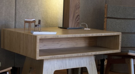 Side Table - Bamboo