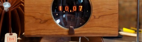 Cherry Nixie Clock
