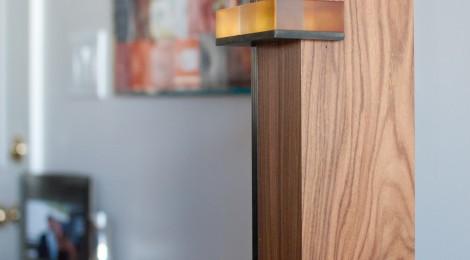 Rosewood, Steel, Acrylic