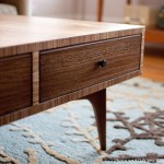 Zebrawood Coffee Table