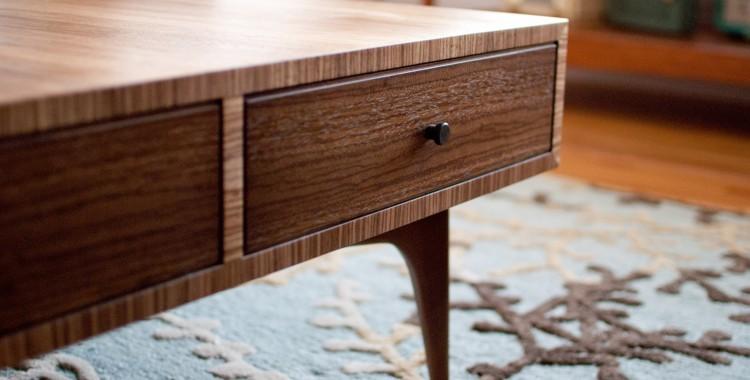Zebrawood Coffee Table