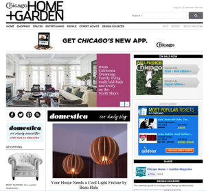 Beau on Chicago Home Mag Home Page 9.12.13